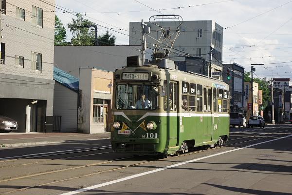 札幌市電画像 M101